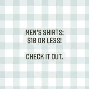 Men's stuff!
